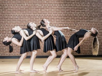 Petit csoport 6-7 éves modern tánc